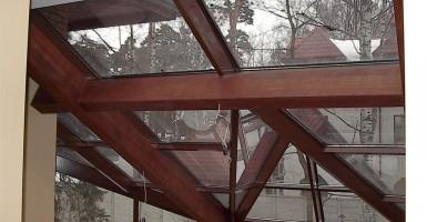 Современные стеклянные крыши