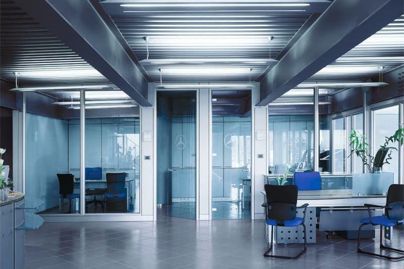 Как выбрать перегородки для офисных помещений?