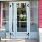алюминиевые двери цена