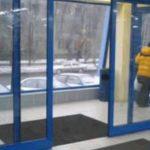 автоматические алюминиевые двери купить