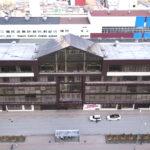 Возведение стеклянный крыши