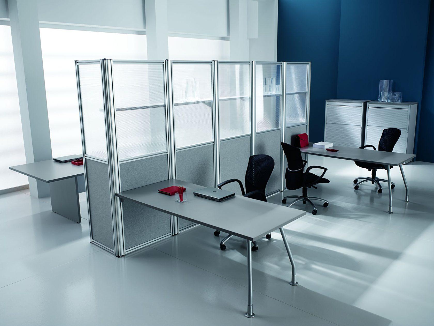 Разновидности офисных перегородок и их преимущества