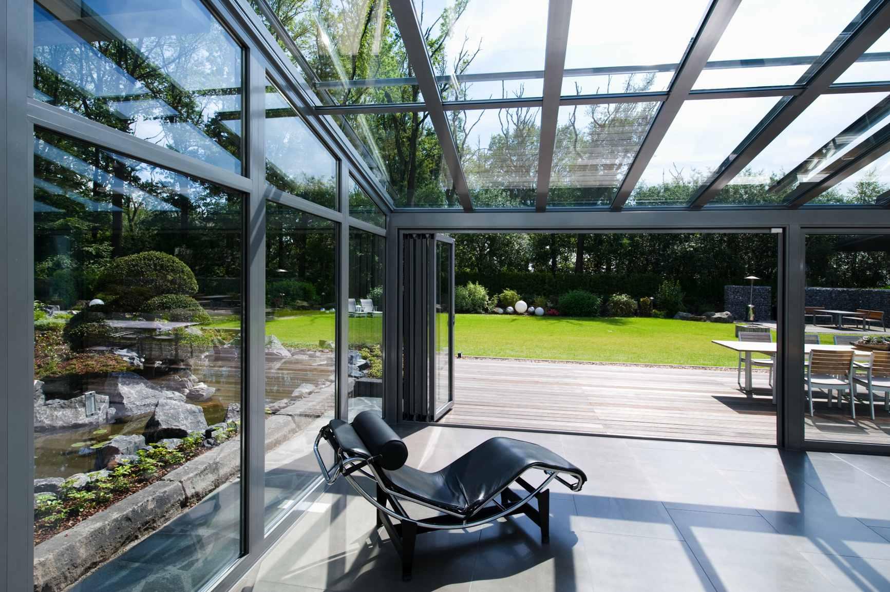 Алюминиевые светопрозрачные конструкции в дизайне и архитектуре