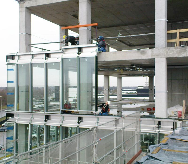 Сборка алюминиевых конструкций