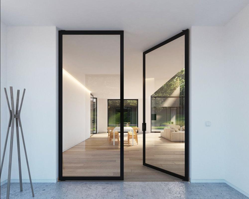 Характеристики стеклянных дверей